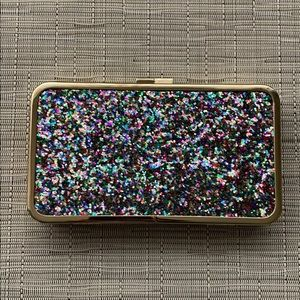 Talbots Sparkle Clutch